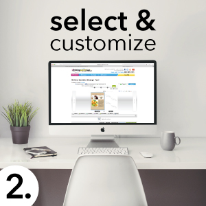 select & customize templates
