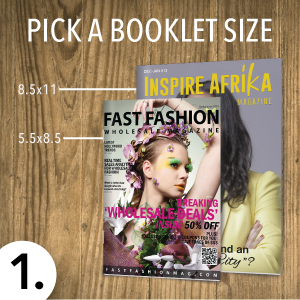pick a booklet template size