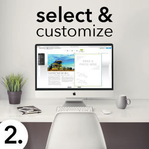 select & customize a magazine