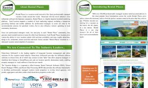 Custom design business program printing
