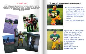 make a football program for printing